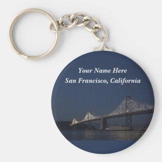 Bay Bridge & Yerba Buena Island #2 Keychain