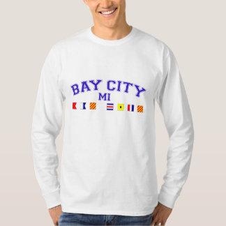 Bay City, MI - Nautical Spelling T-Shirt