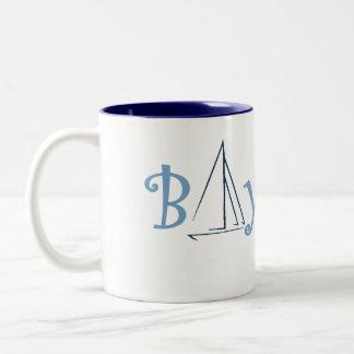 bay city michigan boating mugs