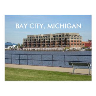 BAY CITY, MICHIGAN POST CARD