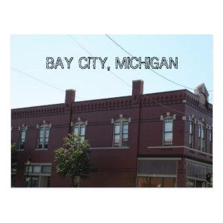 BAY CITY MICHIGAN POST CARD