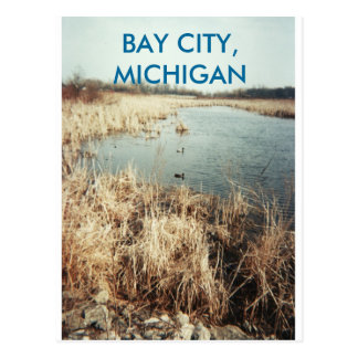 BAY CITY, MICHIGAN POSTCARD