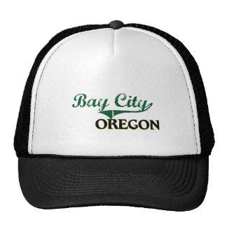 Bay City Oregon Classic Design Trucker Hats