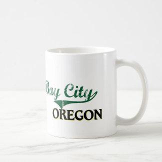 Bay City Oregon Classic Design Mug