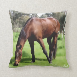 Bay Horse Green Pick Cushion