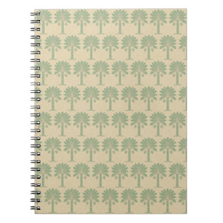 Bay Leaf Spice Moods Palm Spiral Note Books