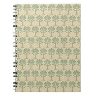 Bay Leaf Spice Moods Palm Spiral Note Books