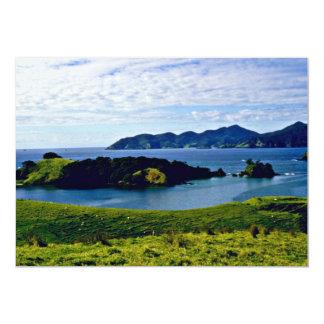 Bay Of Islands, North Island 13 Cm X 18 Cm Invitation Card