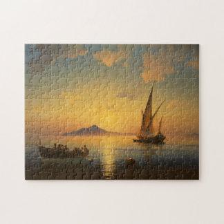 Bay of Naples - Ivan Aivazovsky - Seascape Watersc Jigsaw Puzzle