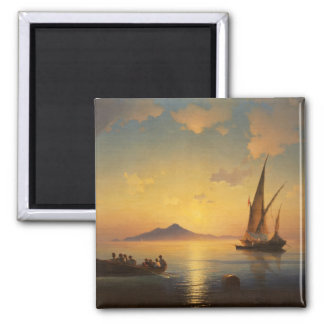 Bay of Naples Ivan Aivazovsky seascape waterscape Magnet