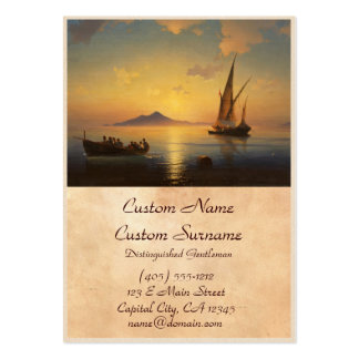Bay of Naples Ivan Aivazovsky seascape waterscape Pack Of Chubby Business Cards