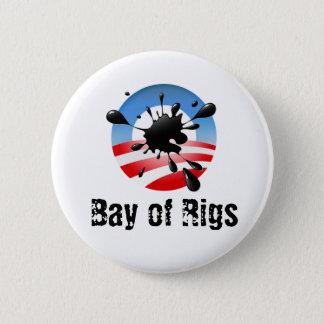 Bay of Rigs 6 Cm Round Badge