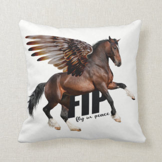 Bay Pegasus Fly in Peace Scatter Cushion