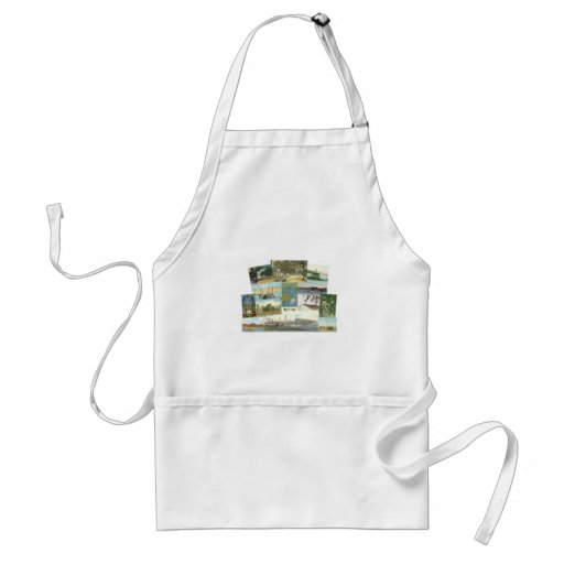 Bay St. Louis Collage Aprons