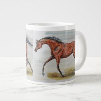 Bay Stallion Horse Mug