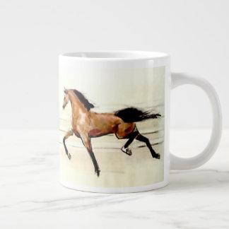 Bay Stallions Mirror Image Large Coffee Mug