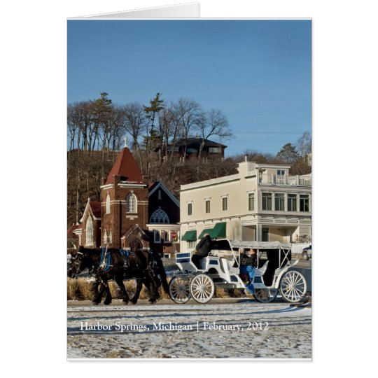 Bay Street Carriage Ride Card