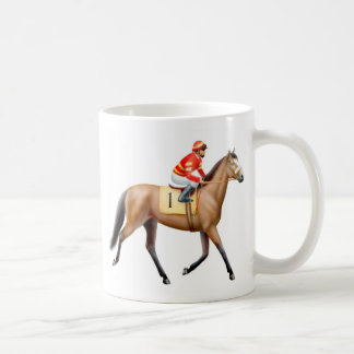 Bay Thoroughbred Racehorse Mug