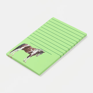Bay Tobiano Paint Horse Post-it Notes