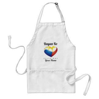 Bayan Ko Pilipinas, Heart Flag Apron Custom