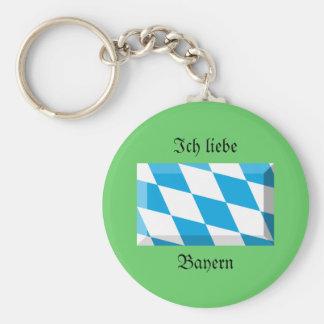 Bayern Flag Gem Key Chains