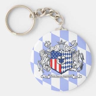 Bayern MAHS Crest Key Ring