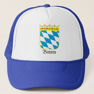 Bayern Wappen Bavaria Coat of Arms Trucker Hat