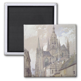 Bayeux Cathedral, View from the South East Square Magnet