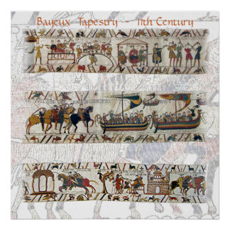 Bayeux Tapestry 11th Century Poster