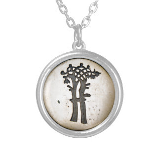Bayeux Tapestry Tree Silver Plated Necklace
