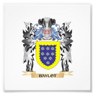 Baylot Coat of Arms - Family Crest Art Photo