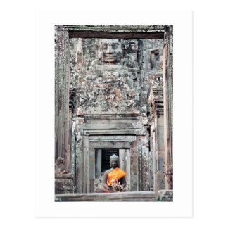 Bayon Temple, Angkor Thom, Cambodia Postcard
