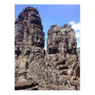 Bayon Temple Postcard
