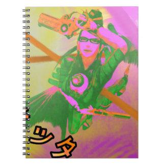 Bayonetta Printed Notebook