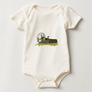 Bayou Airboat Baby Bodysuit