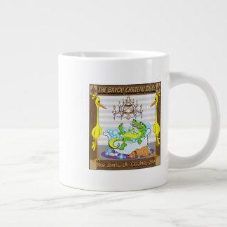 Bayou Chateau, New Iberia, LA- Bed & Breakfast Large Coffee Mug