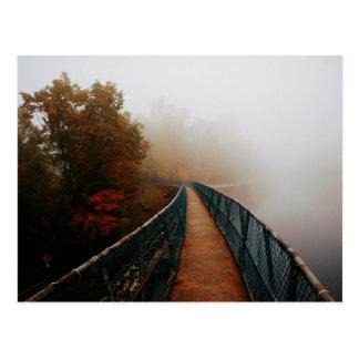 Bays Mountain Dam in the Fog Postcard