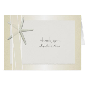 Bayside Folded Custom Wedding Thank You Cards