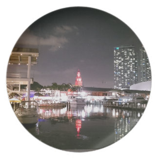 Bayside Market place Miami Plate