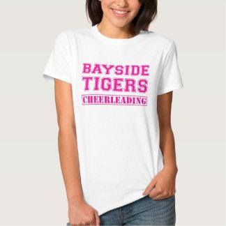 Bayside Tigers Cheerleading T Shirt