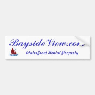 BaysideView.com bumper sticker
