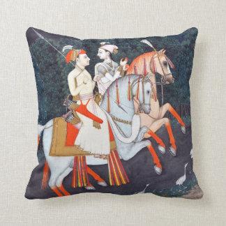 Baz Bahadur and Rani Rupmati Cushion