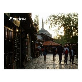 Bazaar Postcard