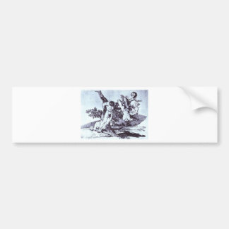 Bazan Grande! With Dead by Francisco Goya Bumper Sticker