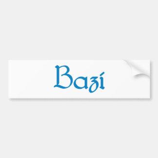 bazi Bavarian Bavarian Bavaria Bavaria Bumper Sticker