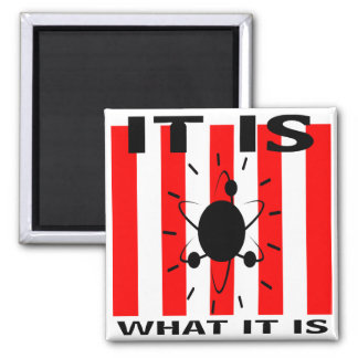 Bazinga Gifts Square Magnet