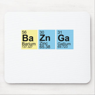BaZnGa Elements symbols.png Mouse Pad