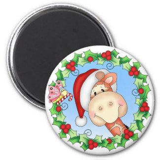 BaZooples Christmas Joy Gertrude Magnet
