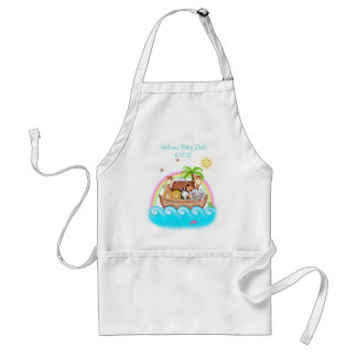 BaZooples Noah's Ark Personalized Apron