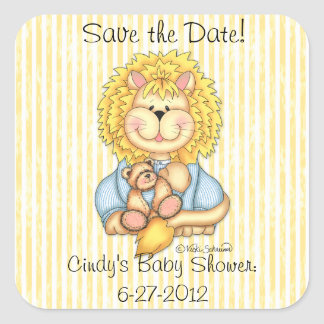 """BaZooples """"Save the Date"""" Lester Sticker"""